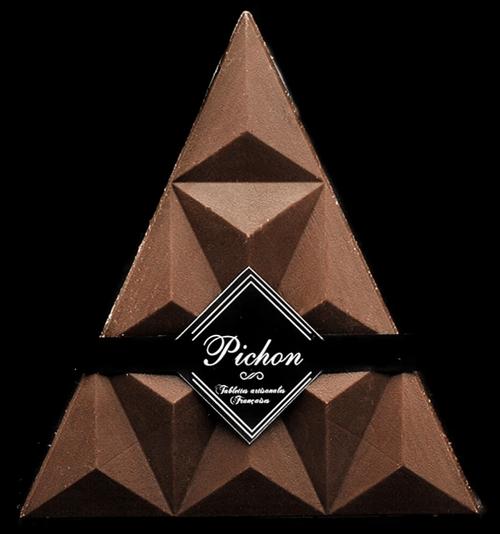 Triangle Chocolat Noir BIO