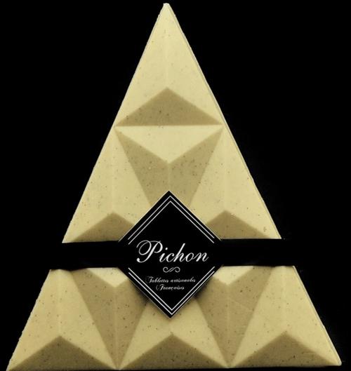 Triangle Chocolat Blanc Caviar de Vanille Bourbon