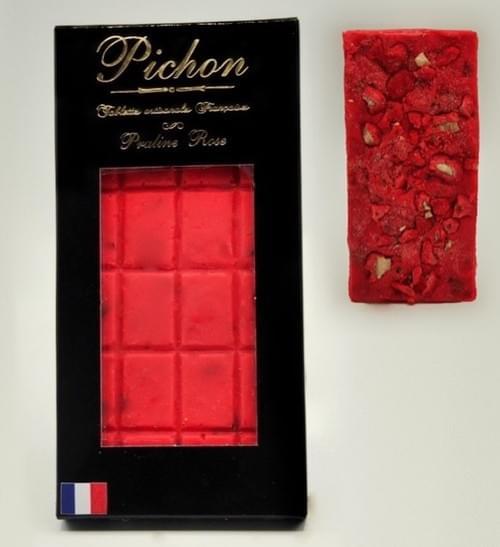 Tablette à la Praline Rose