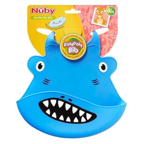 NUBY RolyPoly Animal Face Bib