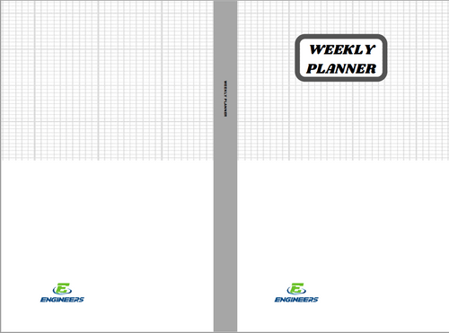 Downloadable PDF - Weekly Planner: Undated Weekly Schedule Book with Tracker, Yearly Calendar