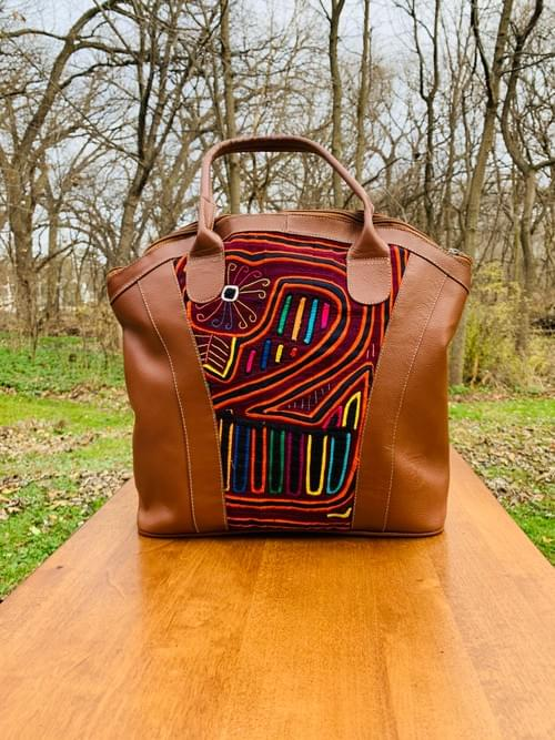 Tan Leather Mola Bag