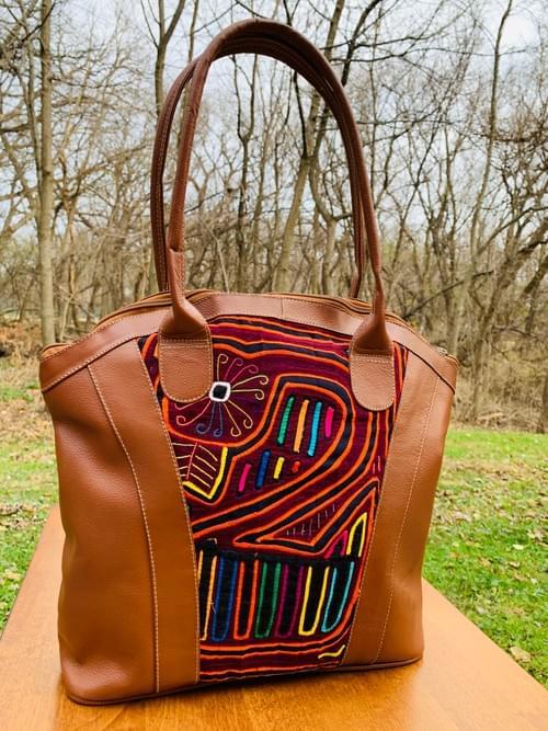 Tan Leather Mola Bag