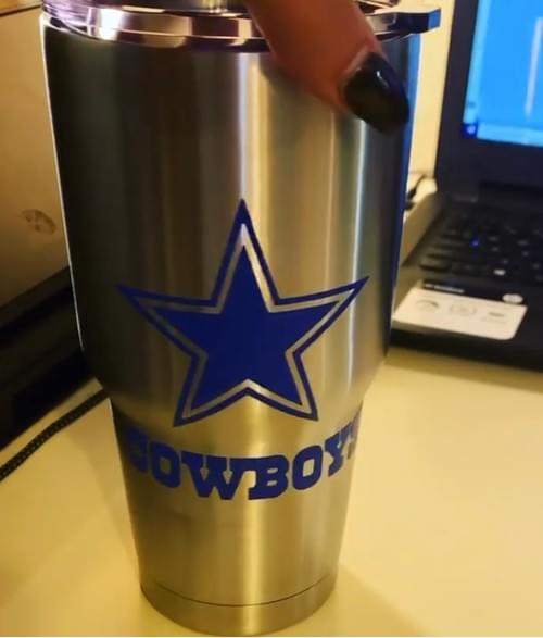 Cowboys Tumbler