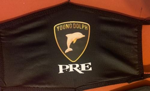 Young Dolph Emblem Face Mask