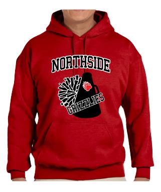 Northside Grizzlies Cheer Hoodie