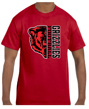 Northside Grizzlies Football Shirt