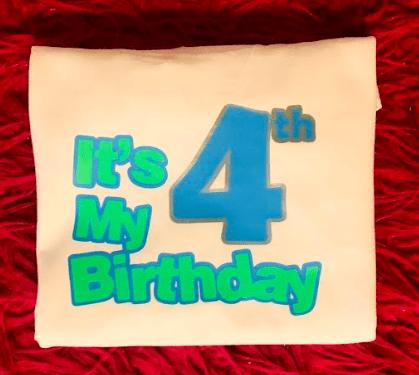 It's My Birthday Shirt