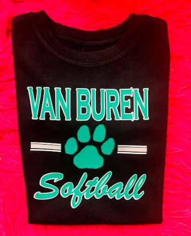 Van Buren Pointers Softball Shirt & Leggings