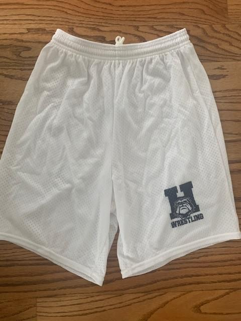 White Athletic Shorts - Sizes AS,AM, AXL, Youth L