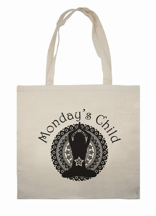 Monday's Child Tote Bag
