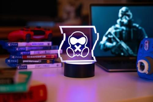 Rainbow Six Siege LED Light - Mute
