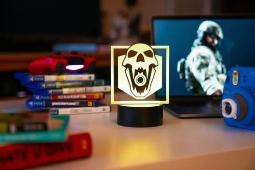 Rainbow Six Siege LED Light - Blackbeard