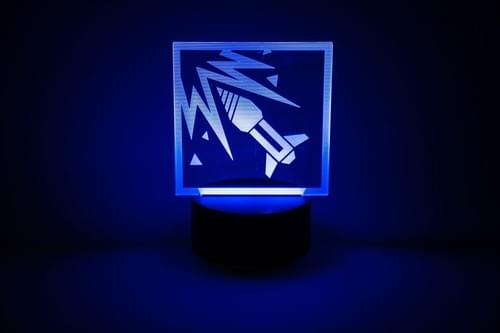Rainbow Six Siege LED Light - Ash