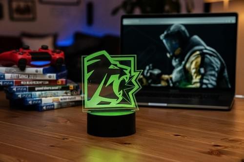 Rainbow Six Siege LED Light - Lion