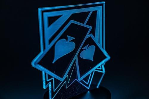 Rainbow Six Siege LED Light - Ace