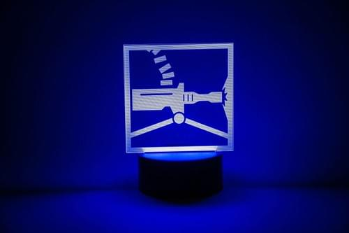 Rainbow Six Siege LED Light - Tachanka