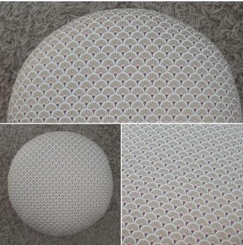 Modèle Collection Chicca Gold  Tissu coton ECOTEX