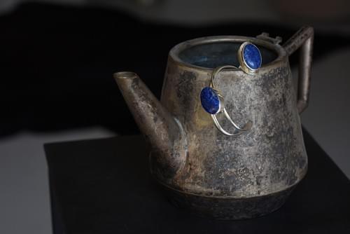 Gyűrű és karkötő - Lapis lazuli
