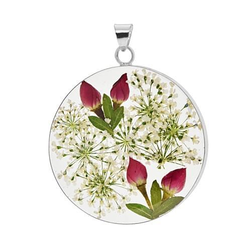 Virágos medál (Cikkszám: 42139)