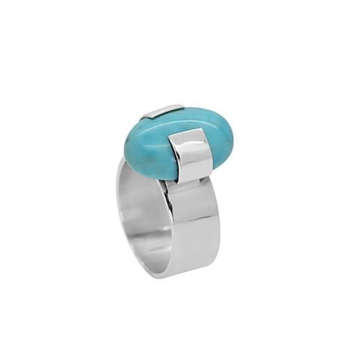 Rekonstruált türkiz gyűrű (Cikkszám: 41103)