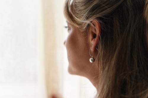 Golyós fülbevaló (Cikkszám: 41961)