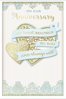 On Our Anniversary - My Heart belongs to you