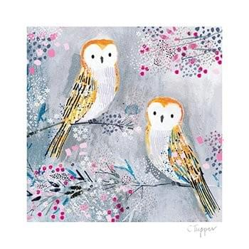 Two Owls /  Deux chouettes