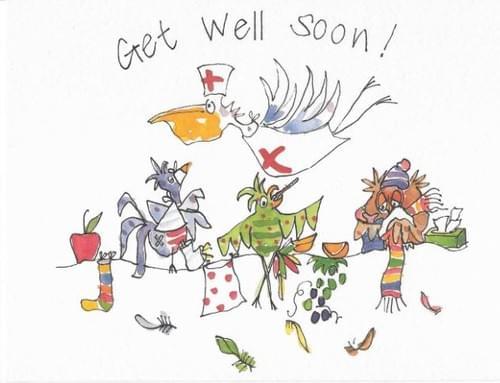 Get Well Soon - Birds