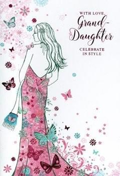 Celebrate in Style - Granddaughter