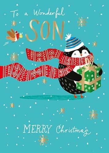 To a Wonderful Son - Christmas