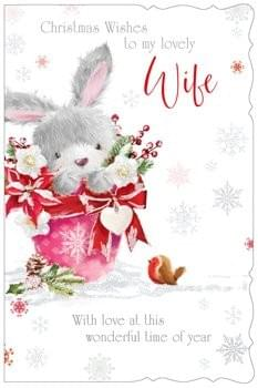 Christmas wishes to my lovely Wife