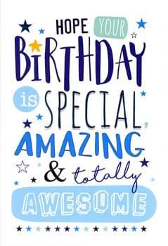 Amazing & Awesome Birthday