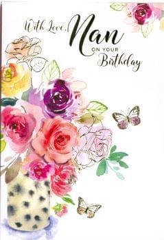Happy Birthday Nan - Flowers