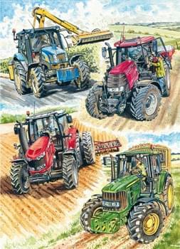 Four Tractors