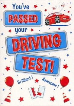 You've passed your driving test!
