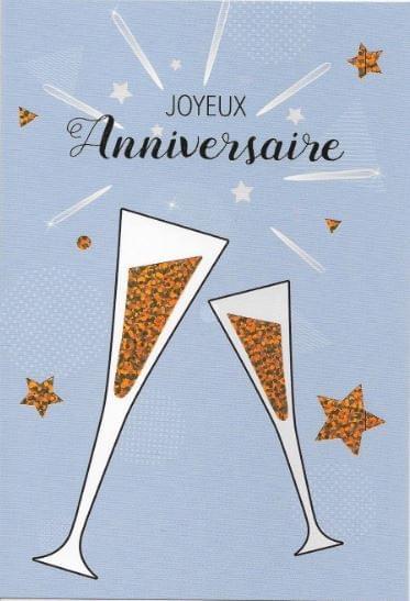Champagne Anniversaire / Champagne Birthday