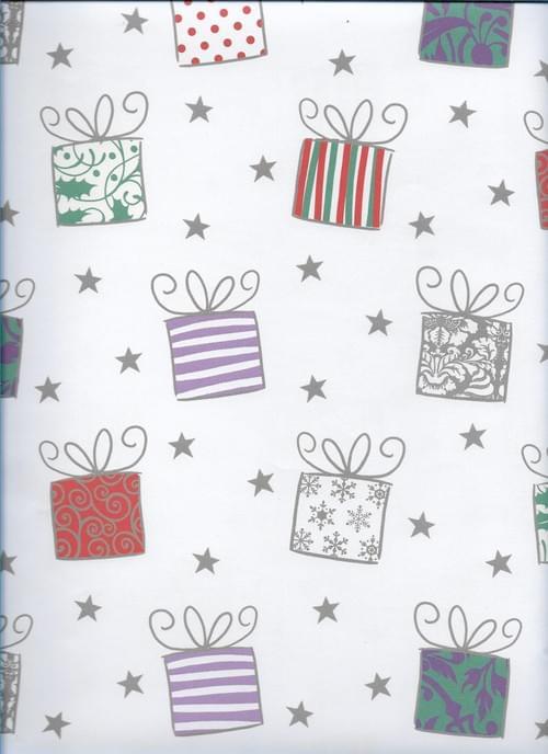 Presents Christmas Paper / Papier d'emballage de Noël - cadeaux