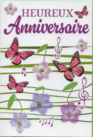 Papillons Anniversaire / Butterflies Birthday