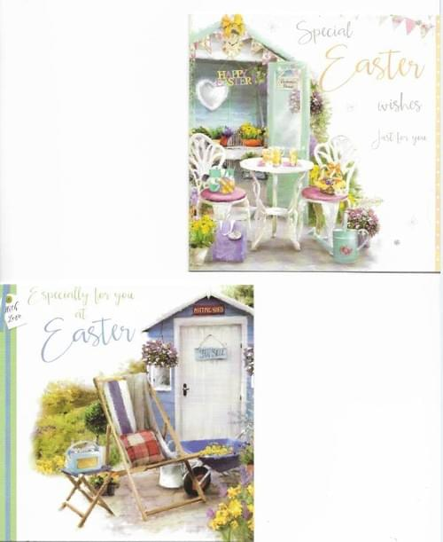 Relax at Easter - Pack of 8 Easter Cards
