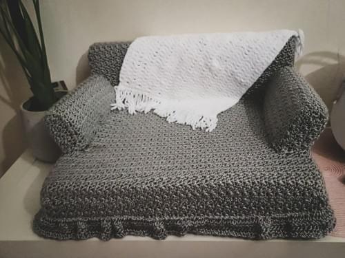 Crochet Cat Lounge