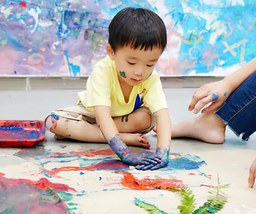 幼兒塗鴉優惠體驗價(45min)含材料費 (1.5歲以上)