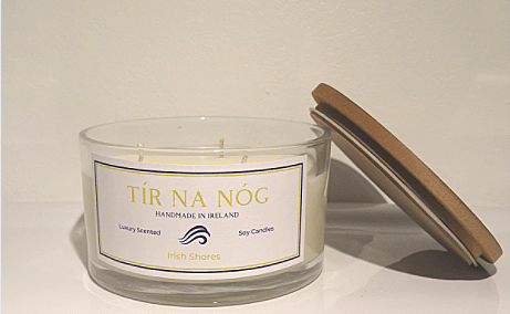 Irish Shores Deluxe Candle