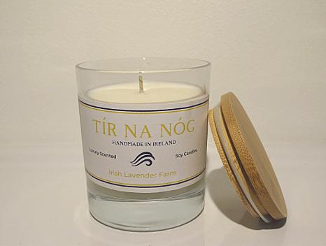 Irish Lavender Farm Deluxe Candle