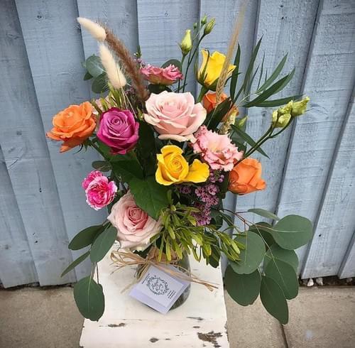 Dramatic Romantic Vase