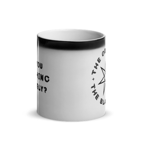 Black Star Magic Mug