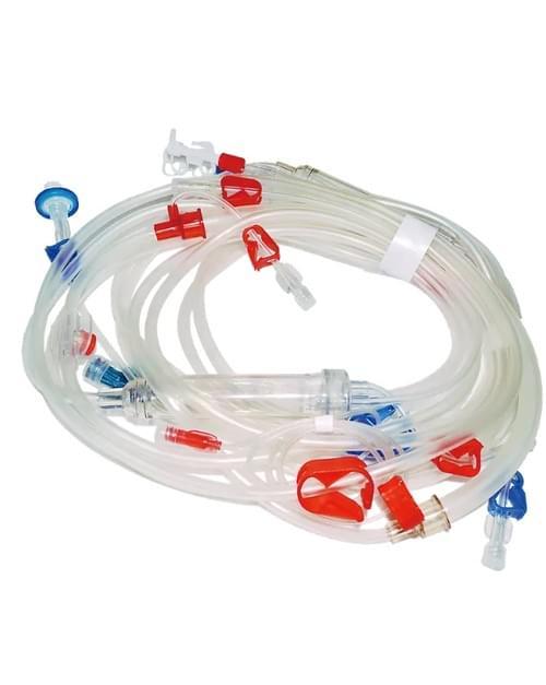 A-V Blood line+IV infusion set