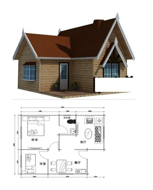 AMERICAN STYLE DOMESTIC HOUSE