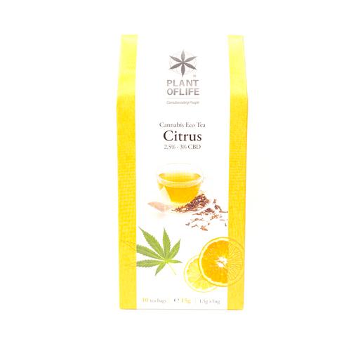 Plant of Life CBD-Bio-Tee Citrus