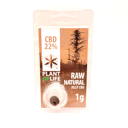 Plant of Life 1g Raw Natural 22% CBD
